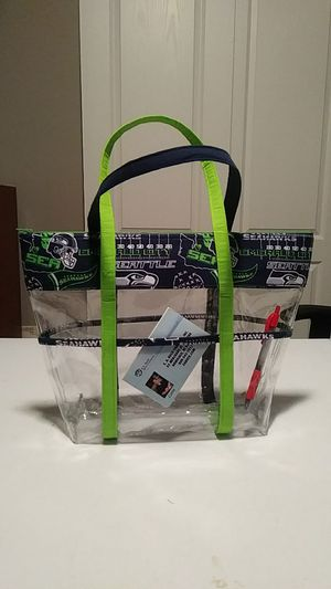 Seattle Seahawk vinyl bag for Sale in Graham, WA