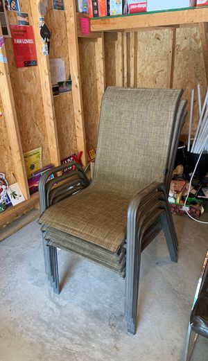 Outdoor chairs (set of 4) for Sale in Columbus, OH