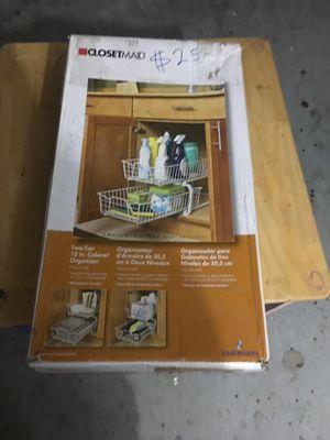 Closet maid under cabinet organizer for Sale in Orlando, FL