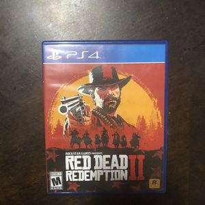 [PS4] Red Dead Redemption 2 + Map for Sale in Vancouver, WA