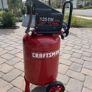 Craftsman 12 Gallon Air Compressor for Sale in Bradenton, FL