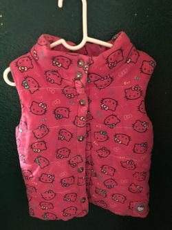 Girls Hello Kitty vest size 5 for Sale in Greenfield,  CA
