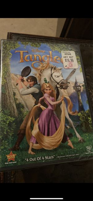 Tangled DVD, brand new for Sale in Joliet, IL
