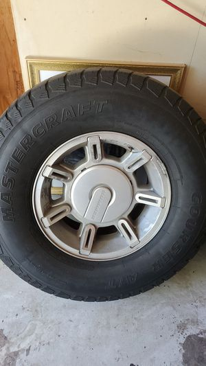 Hummer Rim and Tires for Sale in Hayward, CA
