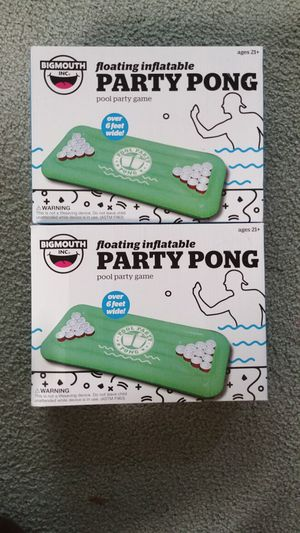 NEW IN BOX Floating Inflatable Party Pong. Pool party game. Over 6 feet wide. for Sale in Marysville, WA