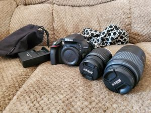 Nikon D5300 2 lenses for Sale in Seattle, WA
