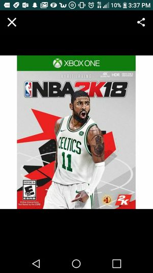Xbox One 2k18 for Sale in Cleveland, OH