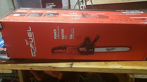 New chainsaw milwaukee m18 fuel new for Sale in Columbus, OH