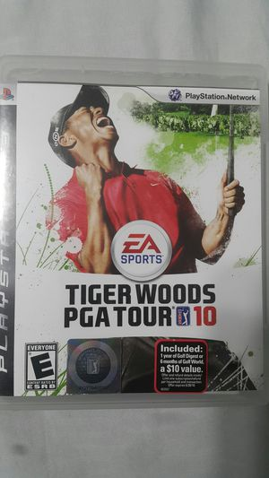 TIGER WOODS PGA TOUR 10 FOR PS3 for Sale in Miami Gardens, FL