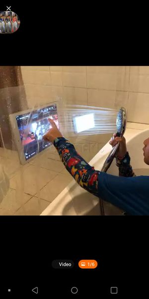 Video, Camera, Talk and listen to music while in the 🚿 or tub. for Sale in Atlanta, GA