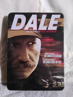 NEW! DALE EARNHARDT Narrated by PAUL NEWMAN 6 DVD COLLECTOR TIN for Sale in Lincoln, NE