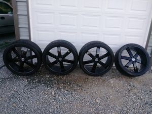 Nice 26in rims and tires for Sale in Marysville, WA