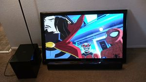 50 inch TV and sound bar for Sale in Hillsboro, OR
