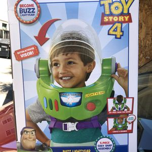 Buzz Lightyear Space Ranger Armor Jet Pack, Visor, lights and sounds for Sale in San Leandro, CA