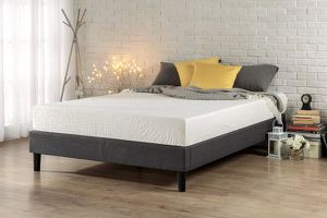 SALE!!! New in box Zinus Curtis Essential Upholstered Platform Bed Frame Full size $79, Queen $89 King size $95 for Sale in Columbus, OH