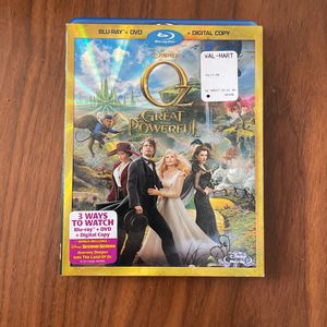 The Great And Powerful Oz - BluRay DVD for Sale in Arlington, VA