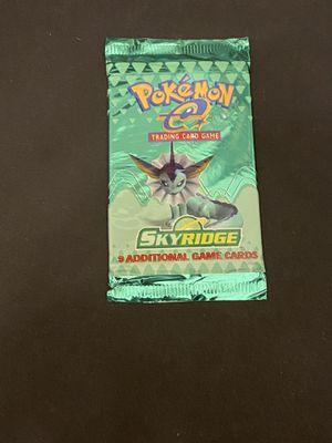 Pokemon Vintage Booster Pack SKYRIDGE for Sale in Rochester, NY