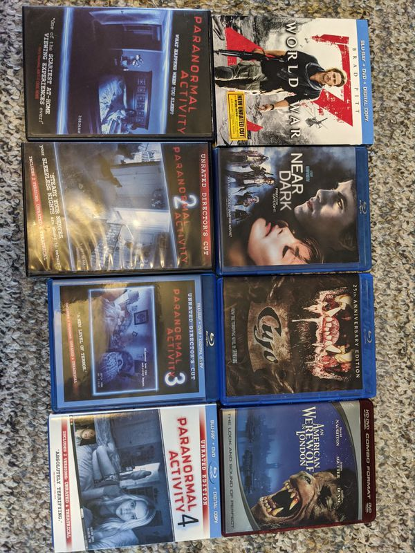 Halloween Horror Movie Blu-ray/DVD Bundle