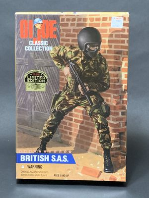 """Hasbro GI Joe 12"""" 1996 Limited Edition British S.A.S. Action Figure for Sale in Vancouver, WA"""