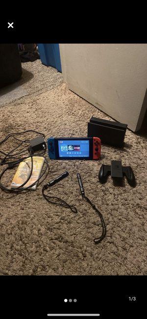 Nintendo switch plus 2 games for Sale in Berkley, MI