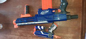 Nerf Retaliator Gun with free pistor Firestrike for Sale in Colton, CA