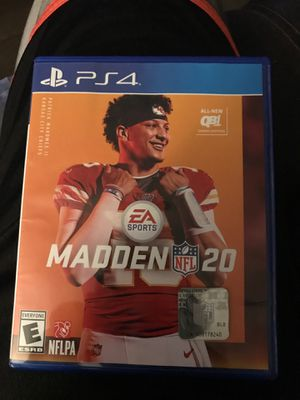 Madden 20 ps4 for Sale in Tempe, AZ