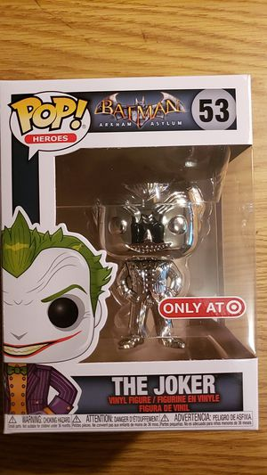 Funko Pop The Joker Silver Chrome Exclusive for Sale in Newberg, OR