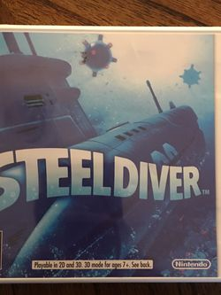 Nintendo 3ds steel Diver Brand New Sealed for Sale in Washington,  DC