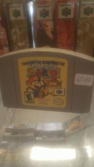 Paper mario N64 for Sale in Simpsonville, SC