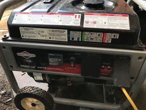 Briggs & Stratton 3500 watts 4375 standing watts generator 541$ when new asking 350$ o.b.o. for Sale in Stockton, CA