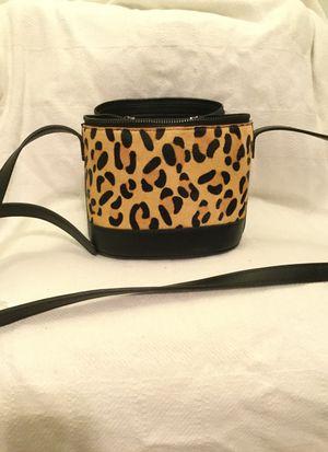Black/Leopard handbag 👜 for Sale in Mesquite, TX