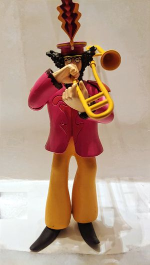 GENUINE McFARLANE YELLOW SUBMARINE TOY FIGURE JOHN WITH TROMBONE for Sale in Clifton Heights, PA