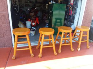 4 heavy Duty bar stools for Sale in Port Richey, FL
