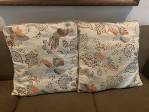 2 Large Decorative Pillows! for Sale in San Ramon, CA