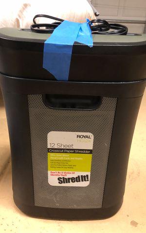 Paper shredder for Sale in Phoenix, AZ