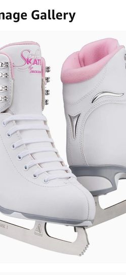 Jackson Classic SoftSkate Girls Ice Figure Skates Size 2 Or 3 for Sale in Elk Grove,  CA