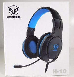 *NEW* Masacegon H-10 Gaming Headset with Mic - Blue for Sale in Mukilteo, WA