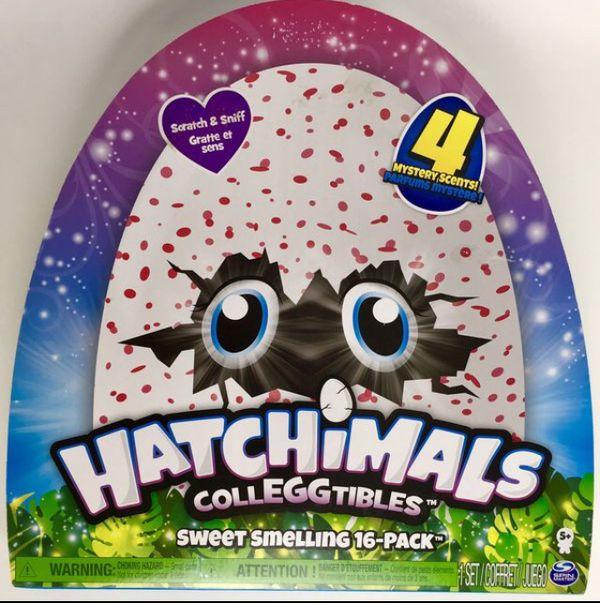 New Hatchimals Colleggtables Sweet Smelling 16 Pack (Tarpon Springs)