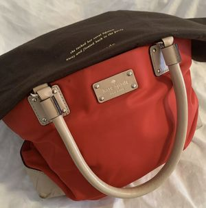 Kate Spade red bag w/ dust bag $50 for Sale in Scarsdale, NY