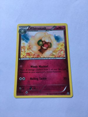 Whimsicott 56/98 - Uncommon Pokemon Card - Ancient Origins Set (2015) for Sale in Avondale, AZ