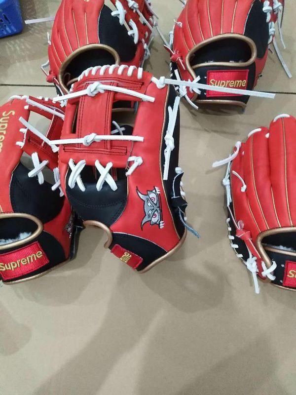 Custom Supreme Baseball Gloves
