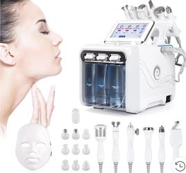 High Tech Facial Machine 6 Different Tools And LED Mask. Huge Facial Product Lot And Steamer Available Also for Sale in Vernon,  CA