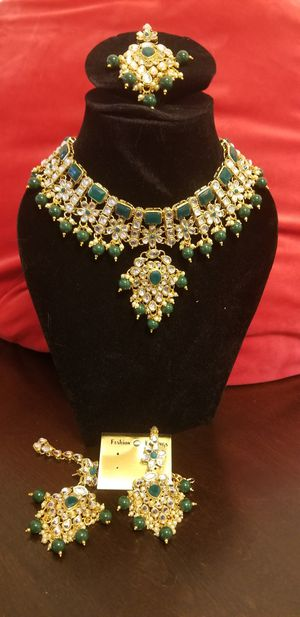 Choker with tikka and earings for Sale in Alexandria, VA