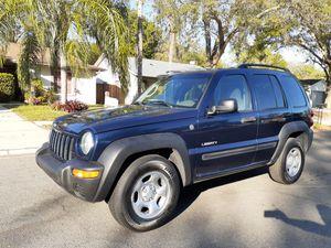Jeep liberty 4x4 for Sale in Brandon, FL