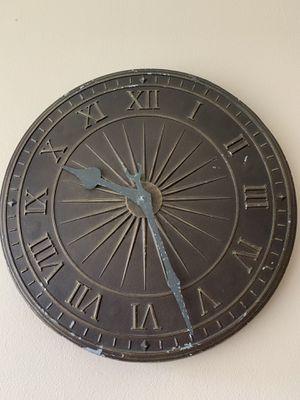 All metal clock for Sale in San Antonio, TX