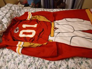 Kansas City Chiefs snuggie style blanket/throw for Sale in Farrell, PA
