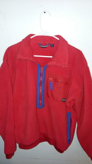 VINTAGE PATAGONIA PILE FLEECE PULLOVER sz M for Sale in Suitland, MD
