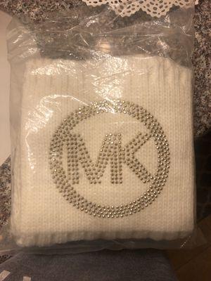 Cream Michael Kors Scarf $30 for Sale in Sanger, CA