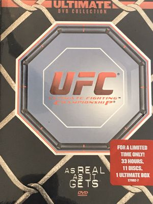 """DVD UFC / MMA """"BRAND NEW"""" ULTIMATE FIGHTING CHAMPIONSHIP COLLECTION•WORKOUT•EXERCISE•TRAINING•WEIGHTS• for Sale in Las Vegas, NV"""