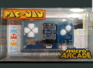 ~Pac-Man micro ARCADE Pocket-Sized Arcade Game~ for Sale in Dallas, TX